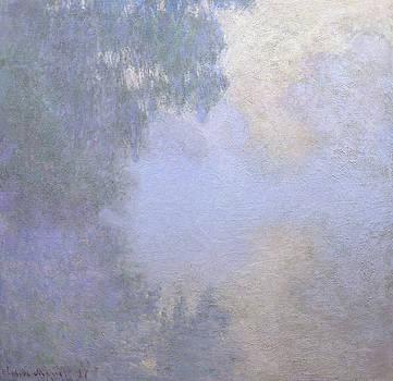 Claude Monet - Branch of the Seine near Giverny  Mist