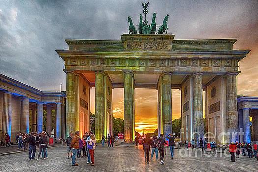 Brandenburg Gate by Pravine Chester