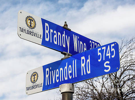 Brandywine And Rivendell Street Signs by Gary Whitton