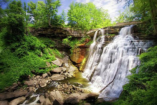 Brandywine Falls, OH by Victoria Winningham