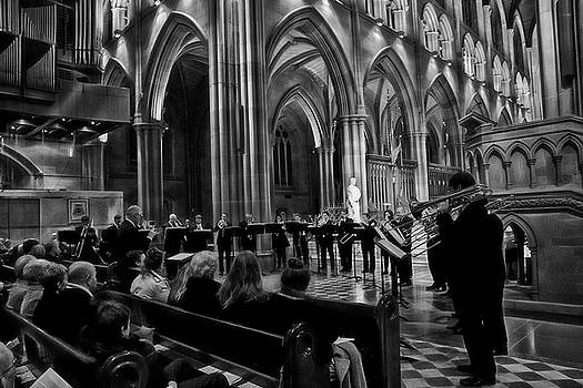 Brass At St Mary's Cathedral by Miroslava Jurcik