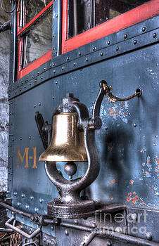 Brass Bell on the M-1 Motorcar by ELDavis Photography