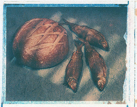 Bread and fish by Jim Wright