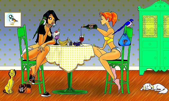 Breakfast At Tiffany's by Lynn Rider