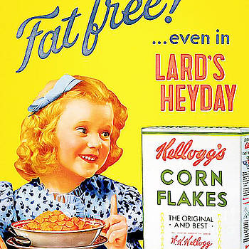 Wingsdomain Art and Photography - Breakfast Cereal Kelloggs Corn Flakes 20160219 square