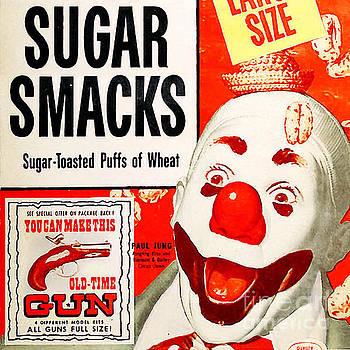 Wingsdomain Art and Photography - Breakfast Cereal Sugar Smacks Pop Art Nostalgia 20160215 square
