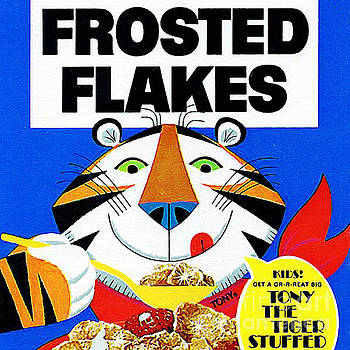 Wingsdomain Art and Photography - Breakfast Cereal Tony The Tiger 20160215 square