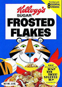 Wingsdomain Art and Photography - Breakfast Cereal Tony The Tiger Pop Art Nostalgia 20160215