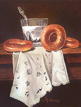 Breakfast by Dusan Vukovic