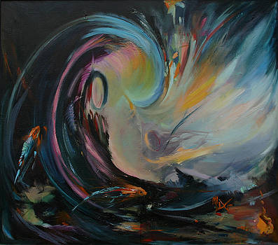 Breakthrough the Piscean Age by Mary D Guidetti
