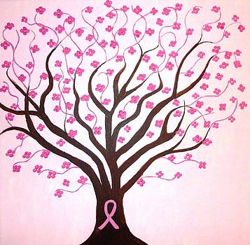 Breast cancer awareness by Dawn Plyler