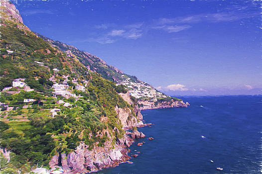 Breathtaking Amalfi Coast by Daphne Sampson