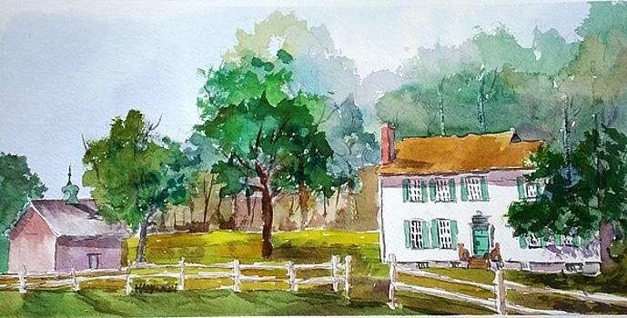 Brecknock Park by Larry Hamilton