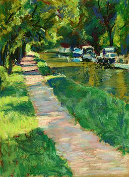 Brecon and Monmouth Canal at Goytre Wharf by Judy Adamson