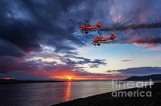 Adrian Evans - Breitling Wingwalkers Sunset