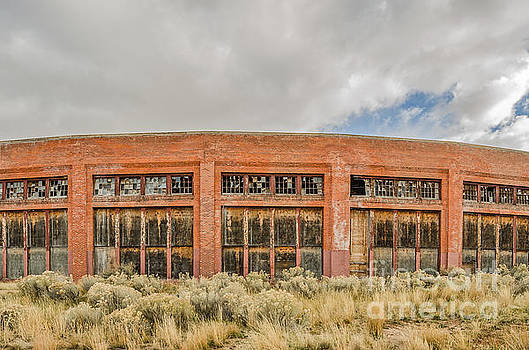 Brick Roundhouse by Sue Smith