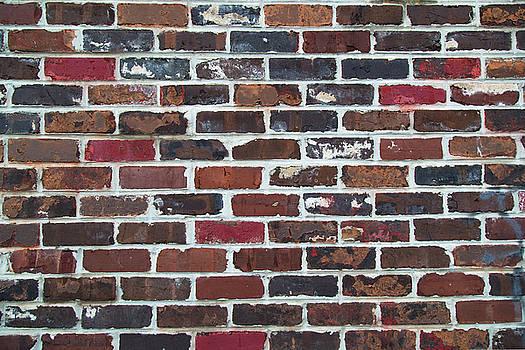 Brick Wall Horizontal by Tiffany Dawn Smith