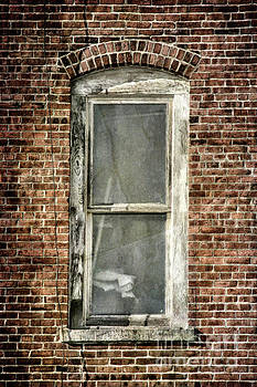 Brick Window 2 by Cindi Ressler