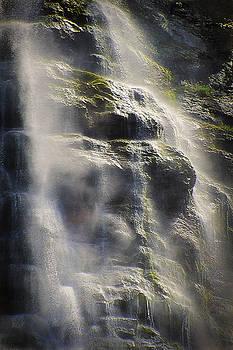 Steve Ohlsen - Bridal Veil Falls Abstract - Provo Canyon Utah