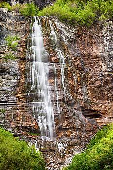Bridal Veil Falls Beauty by David Millenheft
