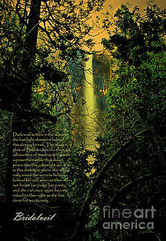 Wingsdomain Art and Photography - Bridalveil . with prose