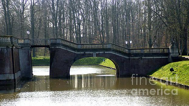 Bridge at Castle Nordkirchen by Eva-Maria Di Bella
