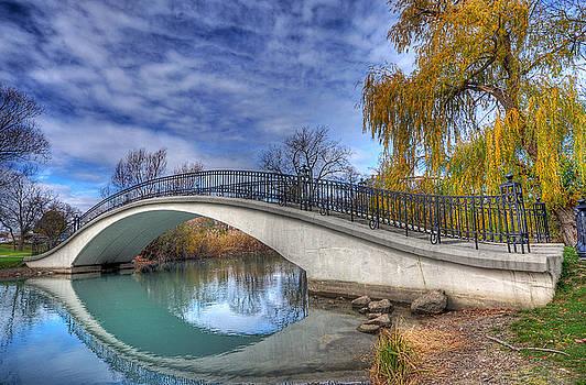 Bridge At Elizabeth Park by Rodney Campbell