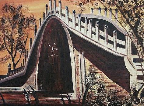 Suzanne  Marie Leclair - Bridge in China