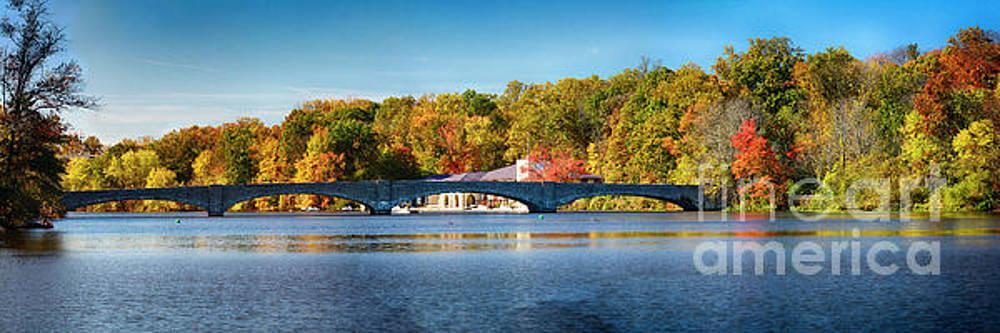 Bridge On Lake Carnegie  by George Oze