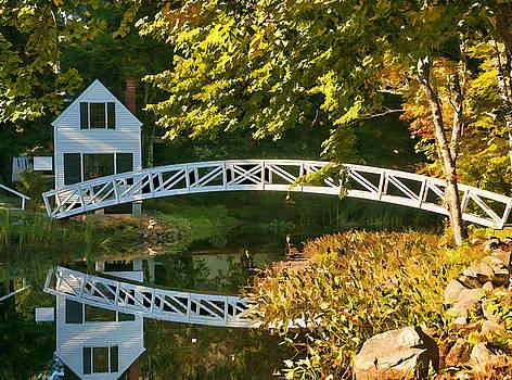 Bridge on Somes Sound by Mick Burkey