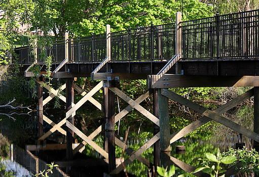 Anne Babineau - bridge over calm water