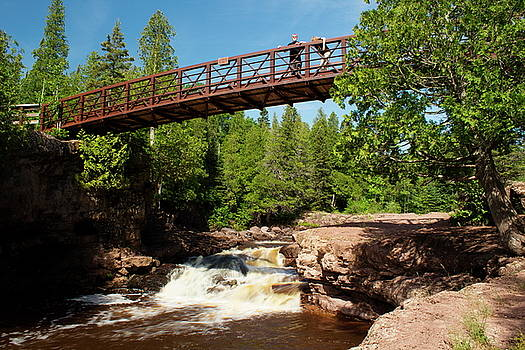 Bridge Over Fifth Falls by Amanda Kiplinger