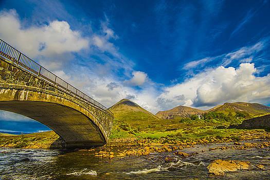 Bridge Over River Sligachan by Steven Ainsworth