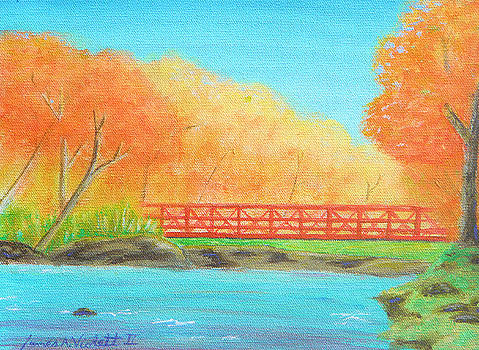 Bridge Over The Chagrin by James Violett II