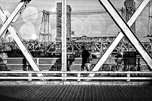 Bridge St. by Thomas Mack
