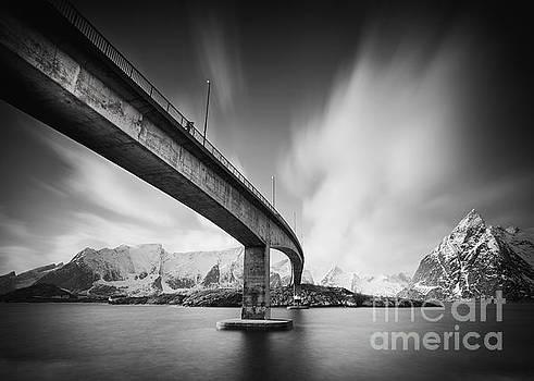 Bridge to Lofoten by Pawel Klarecki