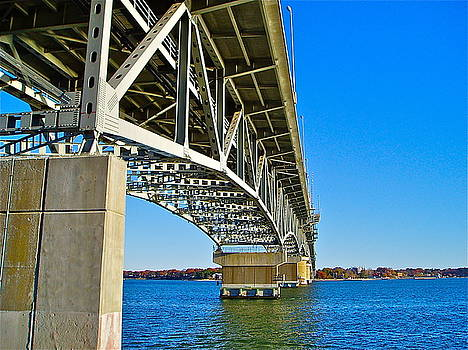 Bridge Underbelly by E Robert Dee