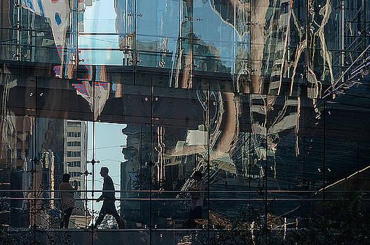 Bridging Two Buildings by Christoph Mueller