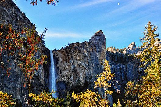 Bridleveil Falls - Yosemite National Park - California by Bruce Friedman