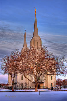 Brigham City Temple by David Simpson