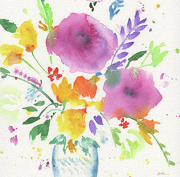Bright Bouquet #3 by Sheila Golden