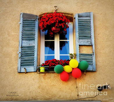 Bright Flowers and Balloons by Lainie Wrightson