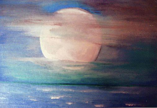 Bright Night Moon. by Brenda Mayall