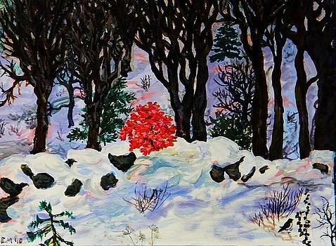 Bright Winter Tree by Emily Michaud