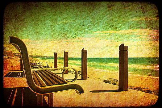 Brighton Adelaide Bench by Sonia Stewart