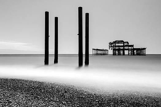 Brighton West Pier by James Evans