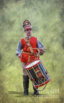 Randy Steele - British Army Drummer Boy