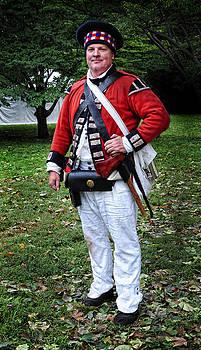 British Highlander American Revolution by Dave Mills