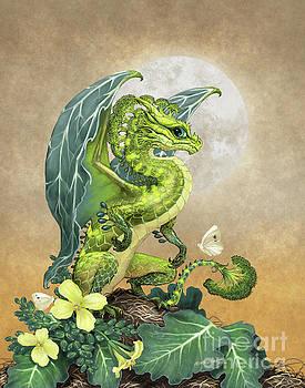 Broccoli Dragon by Stanley Morrison