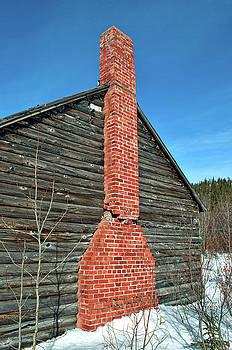Broken Chimney by Cathy Mahnke